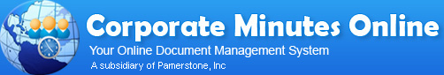 Corporate Minutes Online Logo